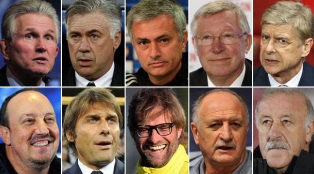 ¿ Qué entrenadores de fútbol han estado mejor pagados en la temporada 2015-2016 ?