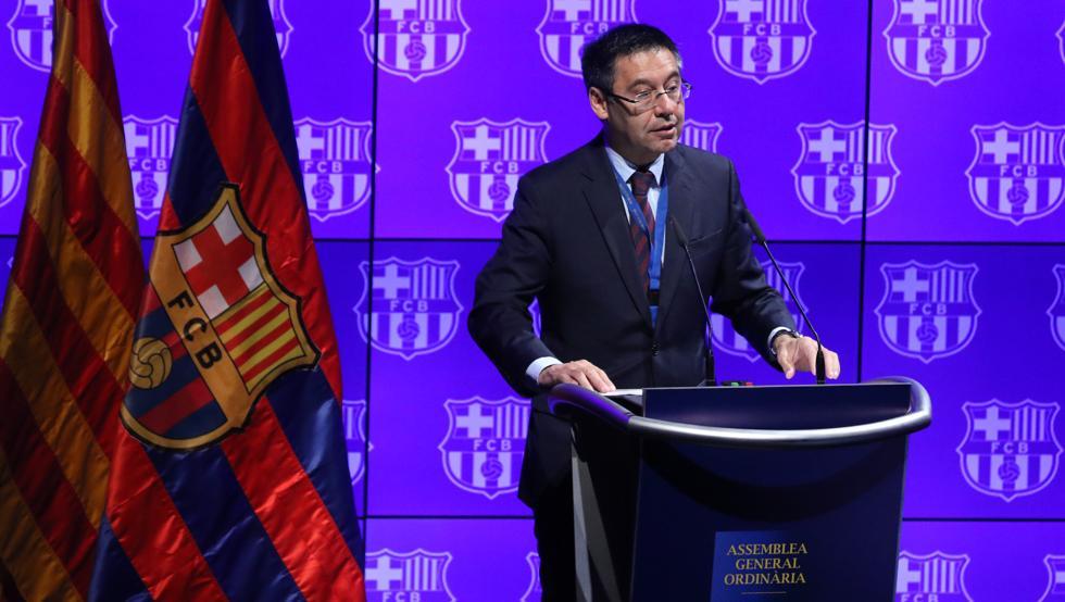 Esta ha sido la evolución del patrimonio neto del FC Barcelona en los últimos años: